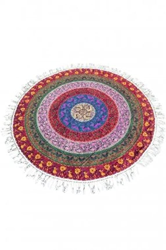 Cotton Mandala Round Tapestry Yoga Mat Beach Cover Round tablecloth Boho beach cove up picnic