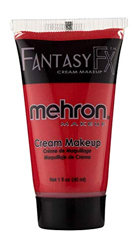 Mehron Makeup Fantasy F/X Water Based Face & Body Paint (1 oz) (RED)