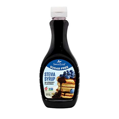 SweetLeaf Sugar-Free Stevia Syrup, Blueberry,12 Ounce