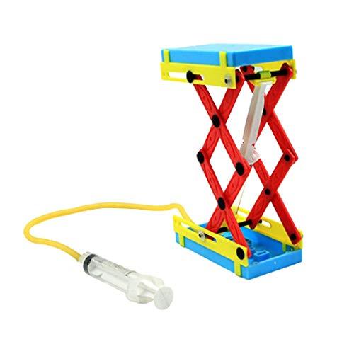 Homyl Mini Hebebühne, Kinder Lernspielzeug Wissenschaft Spielzeug, Gelb