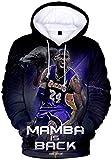 Silver Basic Sudadera con Capucha de Baloncesto Impresa en 3D para Hombre Jersey Otoño Jersey Ropa Deportiva Sudadera Uniforme de Baloncesto 6XL,12375Ropa Azul-1