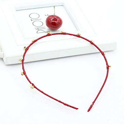 Koreaanse versie eenvoudige temperament set parels en parels ultra dunne haarband