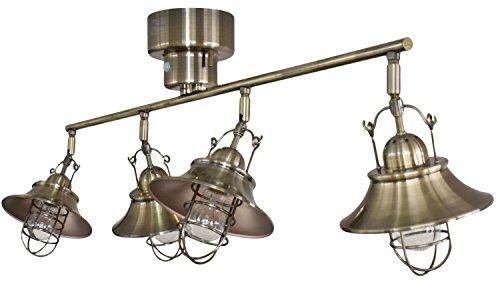 ラウタ RAUTA シーリングライト 4灯 アンティークブラック