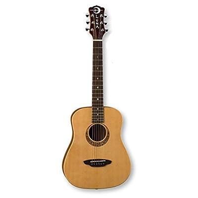 Luna Guitars Muse Safari Series Spruce 3/4 Dreadnought Travel Acoustic Guitar