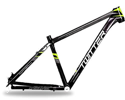 Lidauto frame voor mountainbike, aluminiumlegering, verstelbaar op wielen, 26/27,5 inch, hoogte 15,5/17,5 inch