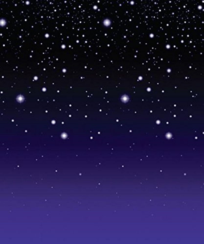 Beistle 1er Pack Starry Night Hintergrund, 4feet von 30feet