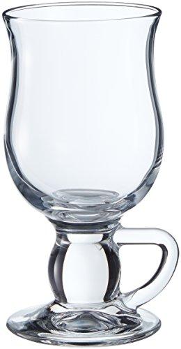 Pasabahce 44159 Irisch Coffee Gläser mit Griff Henkel Kaffee, 2er Pack