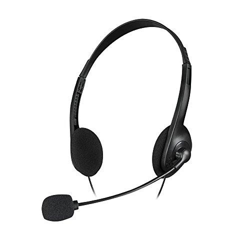Speedlink ACCORDO Stereo Headset -  Allround-Kombination aus Kopfhörer und Mikrofon, Leichtgewicht von 45 Gramm,  schwarz