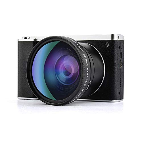 Find Discount Digital Camera,Vlogging Camera 4.0 Inch Touch Monitor 24MP FHD 1080P Wide Angle Lens Y...