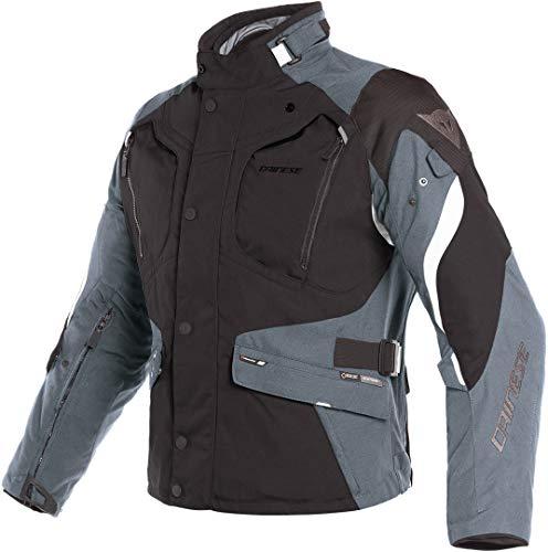 Dainese Dolomiti GoreTex - Chaqueta textil para moto, color negro y...