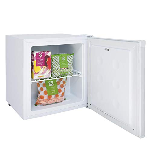 SIA AMZTT02WH 40 L White Counter Table Top Mini Freezer With A+ Energy Rating