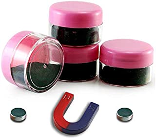 Hmlkeci Magnetic Iron Powder for Magnet Education and School Projects (Set of 4)
