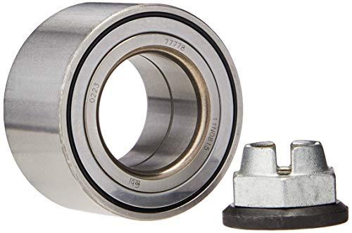 febi bilstein 05526 Radlagersatz mit Kronenmutter und Sicherungsring , 1 Stück