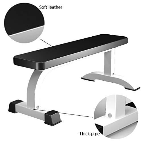 Multifunktions-Hantelbänke Hantel Hocker Professionelle Fitness Stuhl Haushaltshantel Flachbank Multifunktionsgeräte Kommerzielle Fitnessgeräte (Color : Black, Size : 105 * 53 * 45cm)