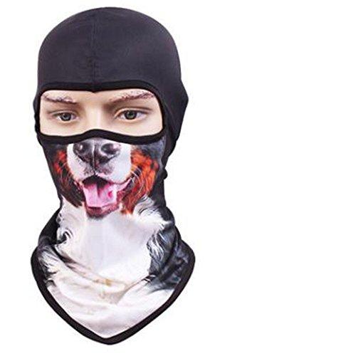 VFDMNSVDSFD Tier Maske trocken atmungsaktive Maske Persönlichkeit outdoor Sun cs Tier Maske Hut maskiert, Verkauf von Moe Hund