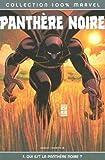 Panthère Noire, Tome 1 - Qui est la panthère noire ?