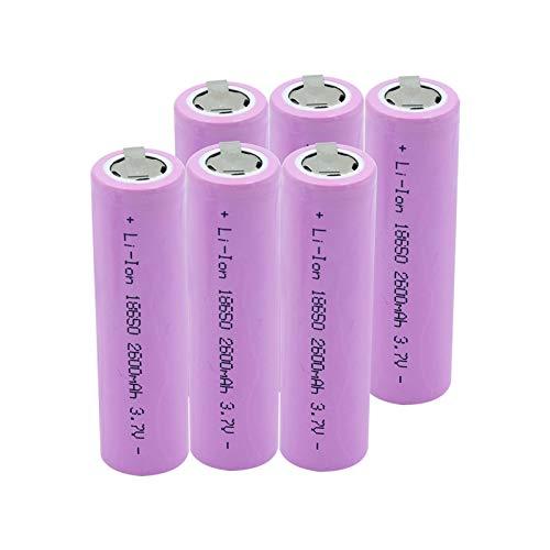 HTRN Cargador De Batería del USB 18650 De 3.7v, 110v Negro 220v para Cargar La Batería De Litio Recargable 2Slots