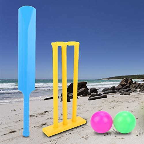 Cricket Bat Kids Cricket Set Strong Plastic Cricket Bat and Ball Set for Kids Cricket Bat and product image