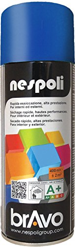 Nespoli Peinture Bleu Signal - Peinture Pro Brillant - 400ml