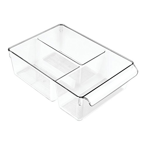 Price comparison product image iDesign Linus Bath Pullz 8 with Dividers,  Clear