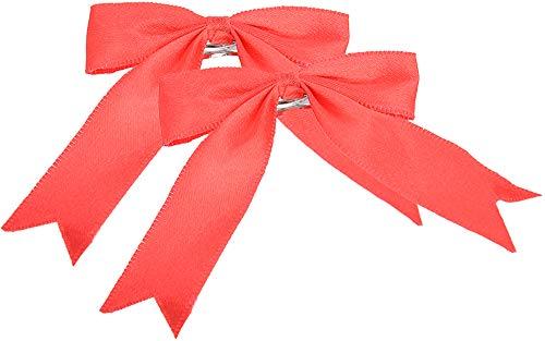 Unbekannt Killer Kirsche Damen Haarspange Satin Schleife (Rot)