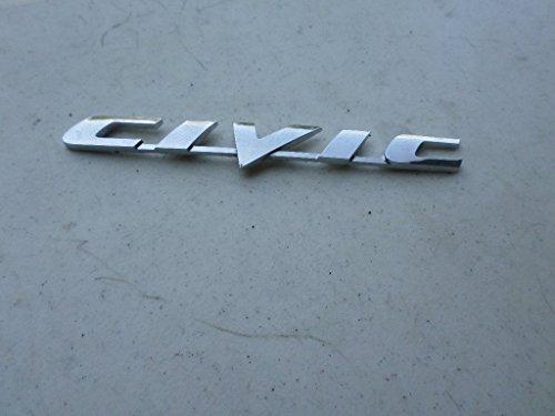08 honda civic emblem - 3