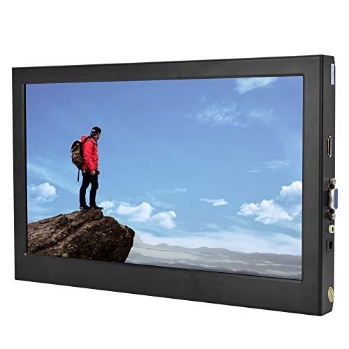 Pantalla para Raspberry Pi, Pantalla portátil de 11,6 Pulgadas Monitor HDMI 1366x768, Monitor IPS de Pantalla LCD, Entrada HDMI VGA HD, Reemplazo para PS3 / 4 Xbox360 Raspberry Pi Windows(EU)