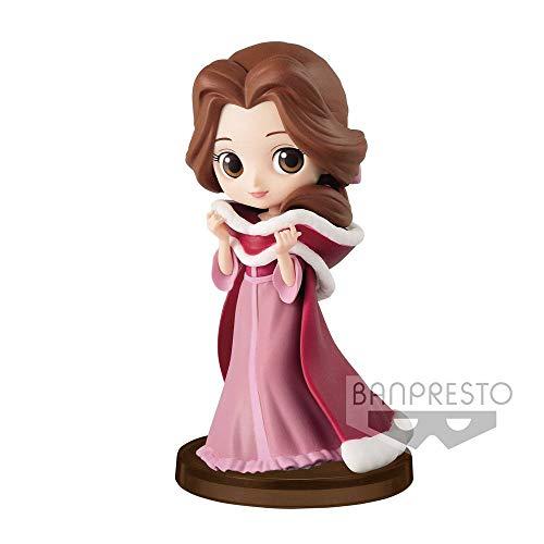 Disney- Bella Winter Accion, Q posket, Figura Colección, Multicolor (82456)…