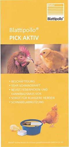 Blattipollo Pickschale Pickmasse Pickstein für Geflügel Hühner Öko tauglich 10 kg (1x 10 kg)