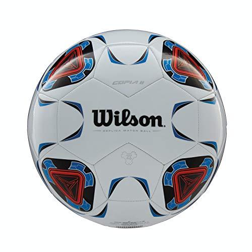 Wilson Unisex's Copia ll Soccer Ball, White/Blue, 3