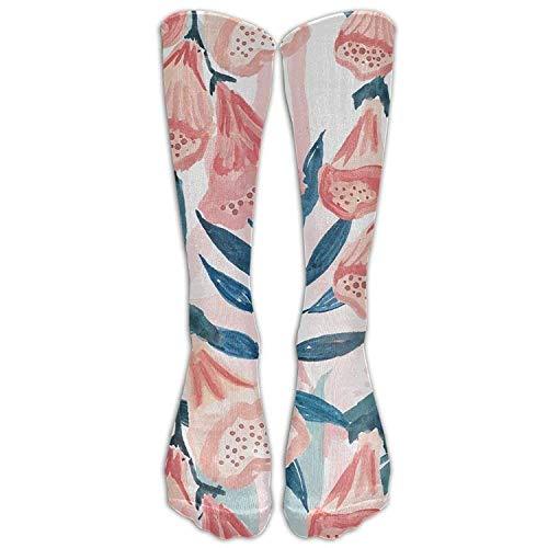 Comfort Athletic Damenstrümpfe über dem Wadenrohr Knöchellanger Elch Bär Beine/Stiefel Mittlere Waden Atmungsaktive Sportsocken