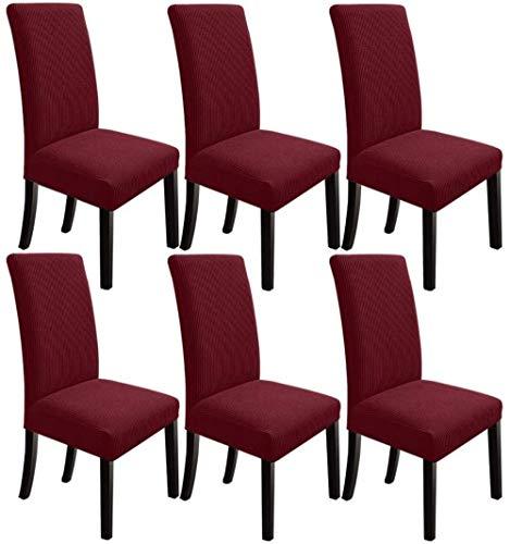 Mazu Homee cubierta de la silla de comedor, cubierta de la silla del estiramiento Parsons comedor cubierta de la silla, para el restaurante