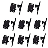 8 Pack Cabinet Door Latch/RV Drawer Latches, 8 Pull Force Latch, Holder for Home/RV Cabinet with Mounting Screws, Perfect for RV, Camper, Motorhome, Trailor, OEM Replacement