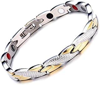 Dragon Design Energy Magnetic Bracelet Men Gold Chain Germanium Bracelet Stainless Steel Bracelets Bangle for Women