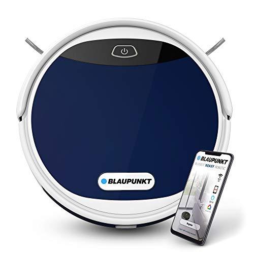BLAUPUNKT Bluebot XEASY - Robot Vacuum Cleaner Blue - Featuring control via Alexa or Google Home