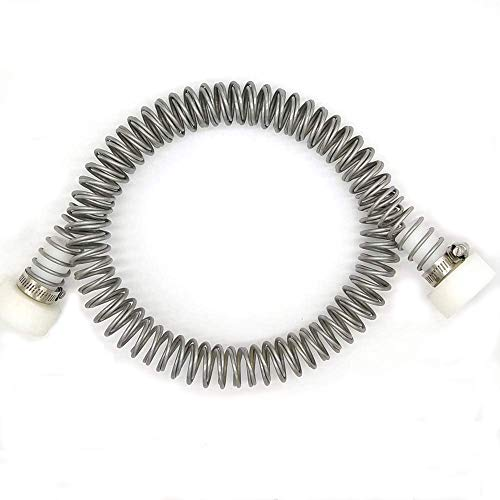 CRESTWALKER 6 1/8 Feet Stainless Steel Zip Line Spring Brake, Fits Cable Size up to 1/2 Inch