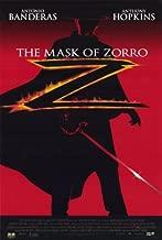 Pop Culture Graphics The Mask of Zorro Poster Movie C 11x17 Antonio Banderas Anthony Hopkins Catherine Zeta-Jones