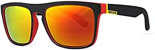 TT WARE Men UV400 Polarized Sun Glassess Outdooors Driving Anti Glare Colorful Lens Glasses-C4