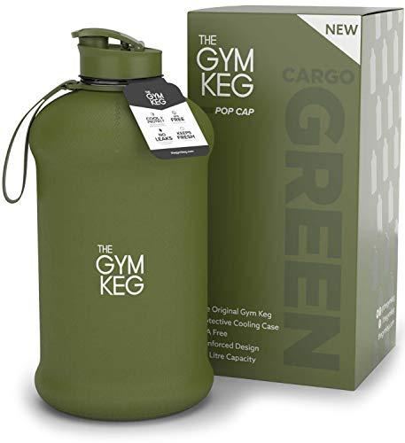 The Gym Keg - Culturismo Botella de Agua para Gimnasio - Botella de Agua Duradera y...