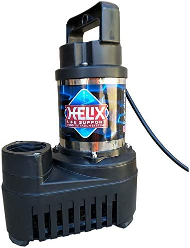 Helix Max 89% Ranking TOP12 OFF Submersible Hybrid-Drive Pump 6500gph