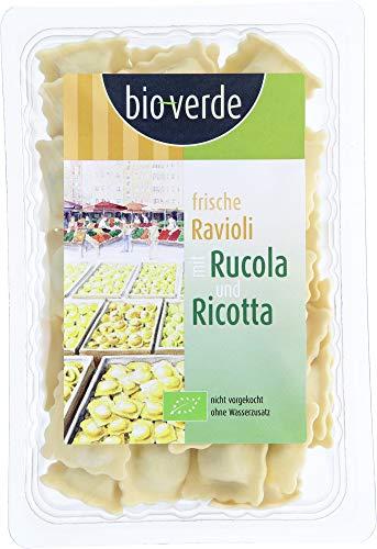 bio-verde Bio Frische Ravioli Rucola & Ricotta 250 g (6 x 250 gr)