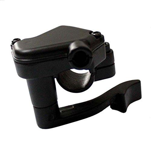 AISEN 22mm Daumengas Gashebel Hebel Gasgriff für Miniquad Kinder Quad Pocketquad ATV 50ccm 110ccm Metallgehäuse