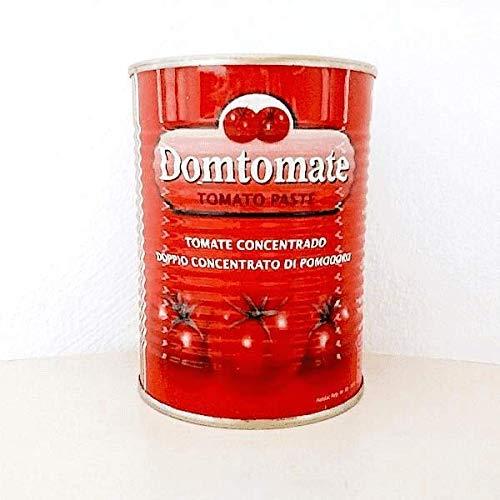 Domtomate- Puré de Tomate Concentrado - Ideal para La Preparacion de Salsas de Calidad- 800 Gramos