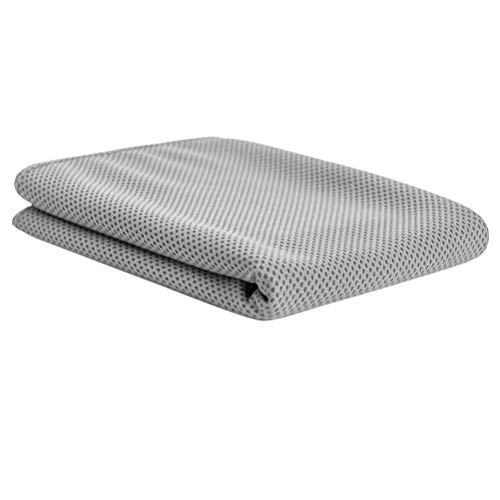 LIOOBO Toalla de enfriamiento Toalla de Microfibra de Secado rápido con Bolsa Deportes Fitness Correr Acampar (Gris)