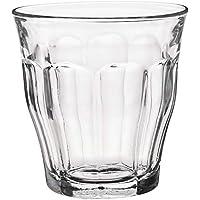 Duralex 1027AB Lote 6 vasos Picardie agua 250 ml, 25 litros, Templado, Azul Marino
