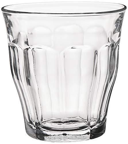 Duralex 1027AB - 6 vasos de agua, 250 ml, Templado, Transparente