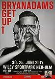 Bryan Adams - Get Up, ULM 2017 » Konzertplakat/Premium