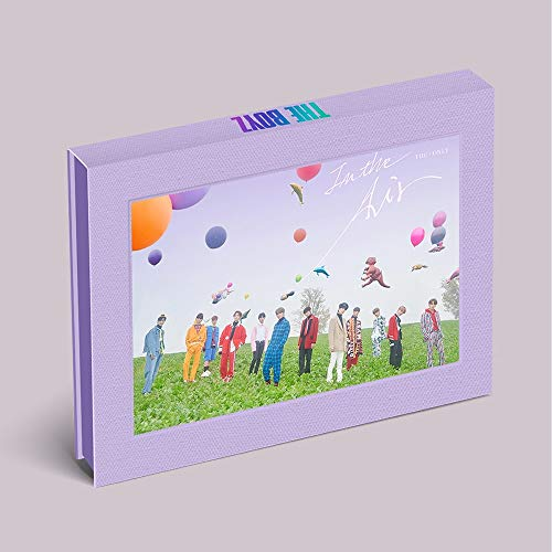 Kakao M The Boyz - The ONLY [In The Air ver.] (3rd Mini Album) CD+Photocard+Film Frame+Sticker+Folded Poster