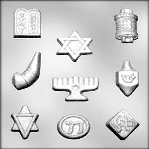 CK Products Jewish Symbols Chocolate Mold