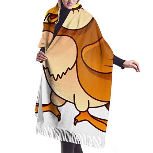 Manta, Bufanda con Flecos, Tapiz, Accesorios de Vestidos, búho de Dibujos Animados Aislado Vector Premium Borla Poncho Chal Capa